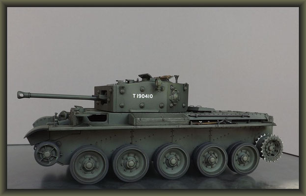 Cromwell Mk.IV ; Diorama 1:35 ; 4. Stage