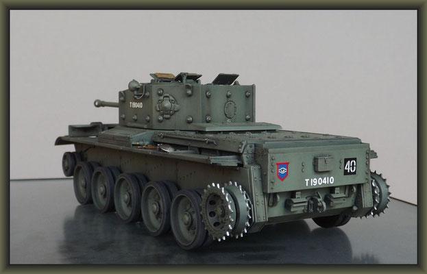 Cromwell Mk.IV ; Diorama 1:35 ; 4. Stage