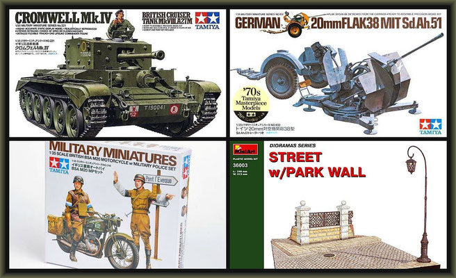 Cromwell Mk.IV ; Diorama 1:35 ; 1. Stage