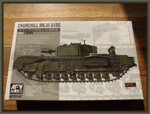 AFV Club AF-35167 CHURCHILL Mk. III AVRE
