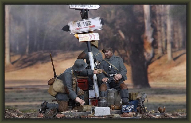 Up The Junction, WWI Vignette, Figure Conversion