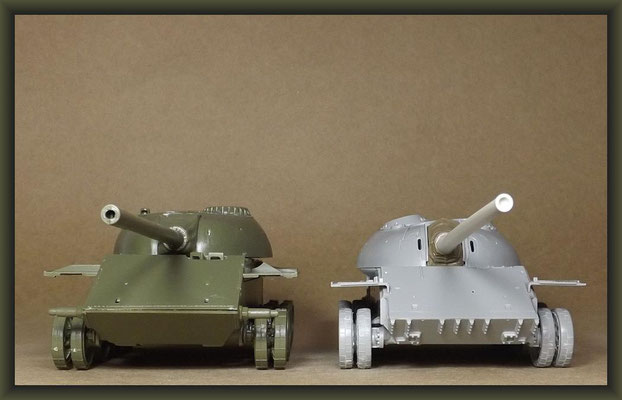 T-54-3 Tank, Diorama 1:35, Building Report Part 2