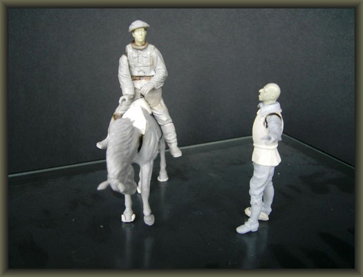 1/32 Figure Conversion ; 1. Stage