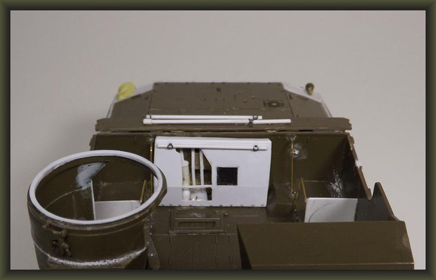 M7B1 105mm HMC 'Priest' , Diorama 1:35, Building Report