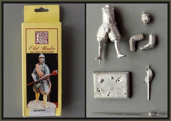 Old Shako Figure ; Material