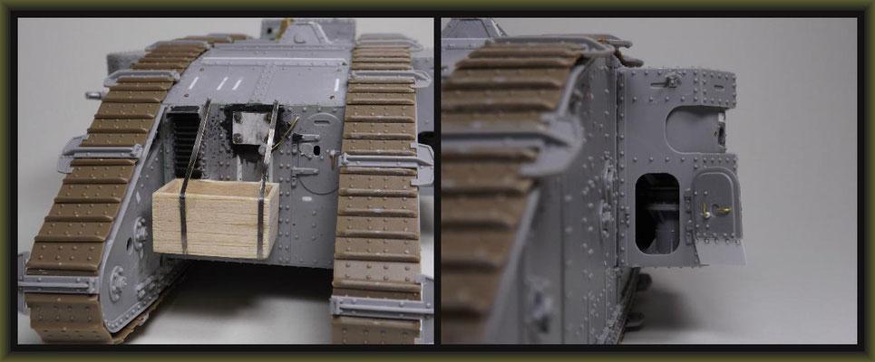 British Mk II Female Tank, Diorama 1:35, Building Report