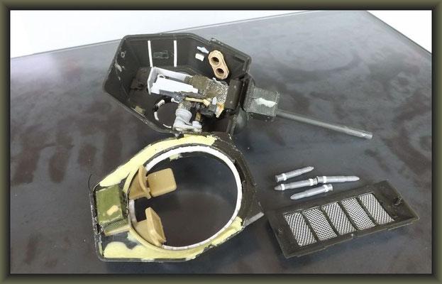 T-34/76 OT34 & ZiS-5V BZ ; Diorama 1/35 ; Staging