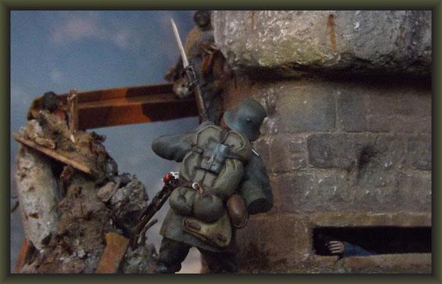 Le Mort Homme, Verdun 1916, 54mm Vignette, Completion
