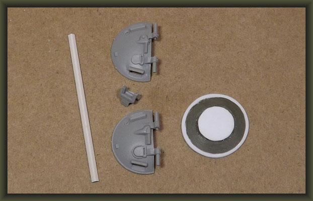 T-54-3 Tank, Diorama 1:35, Building Report Part 3