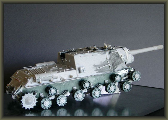 JSU-152 ; Diorama 1/35 ; Staging