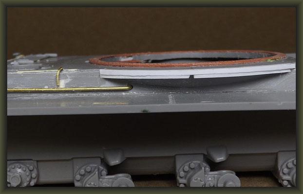 T-54-3 Tank, Diorama 1:35, Stage 5