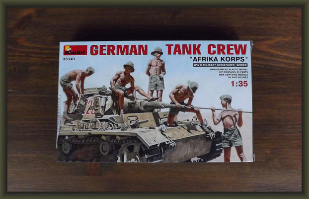 MiniArt 35141 German Tank Crew - Africa Korps