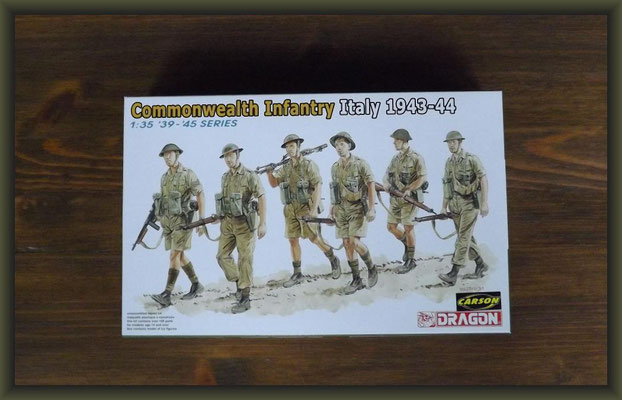Dragon 6380 Commonwealth Infantry Italien 1943