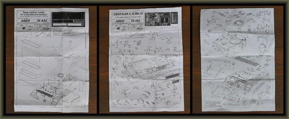 Centaur C.S.Mk.IV, Diorama 1:35, Building Stages