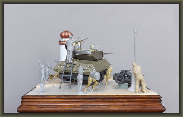 M-10 TD ; Diorama 1:35 ; Stage 3