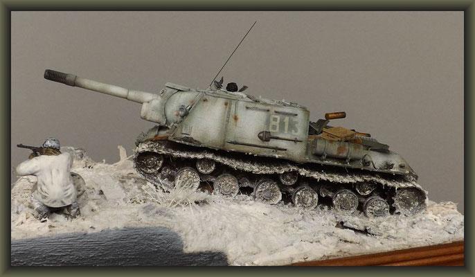 'Beastkiller' ; JSU-152 ; Diorama 1/35 ; Completion