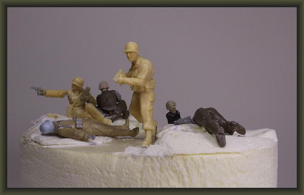 2nd Ranger Battalion, Pointe du Hoc 1944, WWII Vignette 1:35, Building Stages