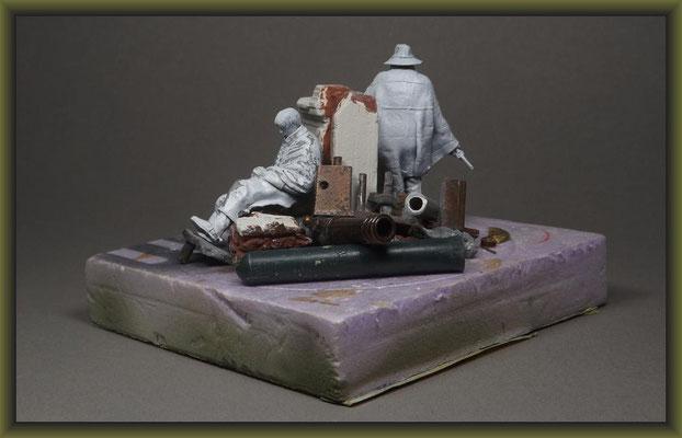 ACW. 54mm Figure Conversion, Building Report