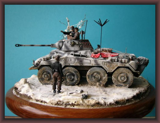 Operation Northwind ; Sd.Kfz 234/2 Puma