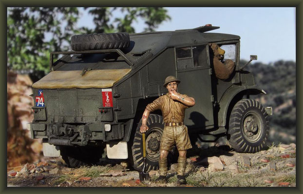 Bear Necessities, Chevrolet Gun Tractor, Diorama 1:35 Completion