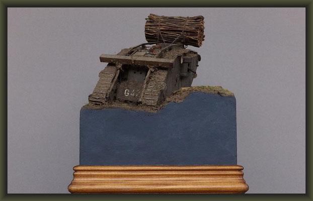 "War of the Worlds, Brit. Mk.IV ""Female"" Tank, Emhar, Diorama 1:35"