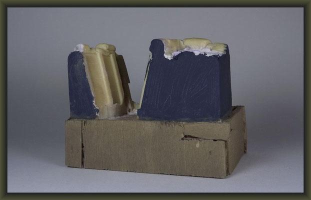 WWI Vignette, 54mm, Building Stages