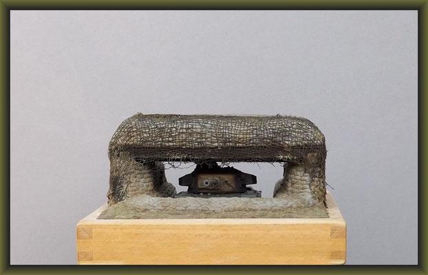 """""""T.U.S.K."""" Centurion Mk. III 'Korea' (Elephant House) Diorama 1:72"""