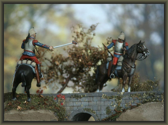 French Cuirassiers ; 54mm Airfix Figure Conversion ; Completion