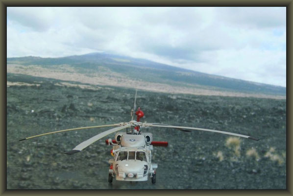 SH-60B Seahawk , Iceland 1995 ; Revell