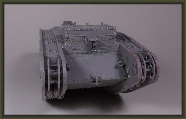 British Mk II Female Tank, Diorama 1:35