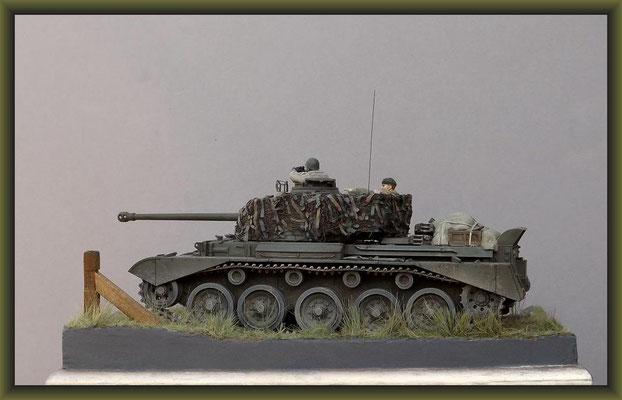Sumpin' Shiney. British Cruiser Tank A34 'Comet' Diorama 1:35