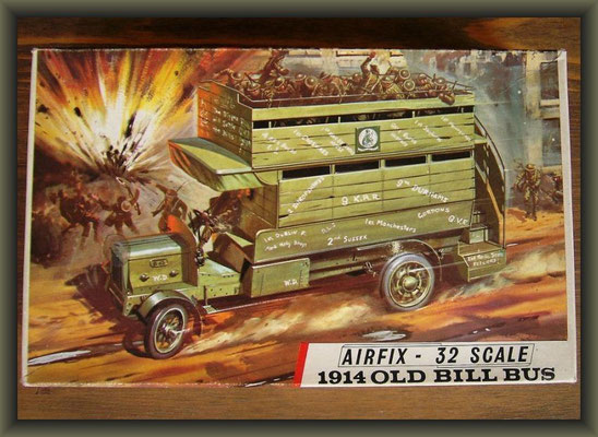 Airfix WWI Old Bill Bus ; Diorama 1/32 ; 1. Stage