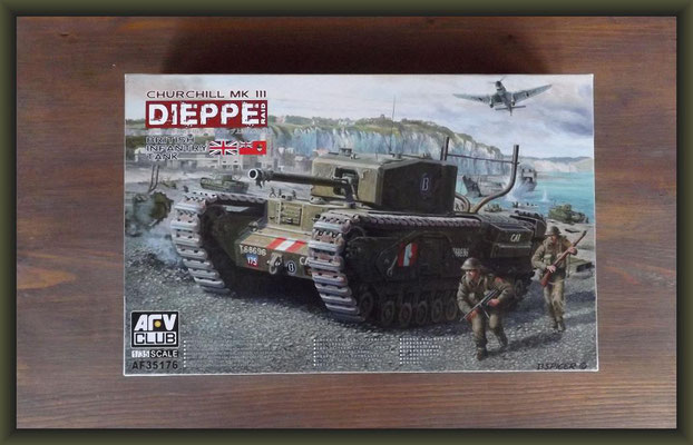 AFV Club AF35176 British Infantry Tank Churchill Mk.III Dieppe Raid