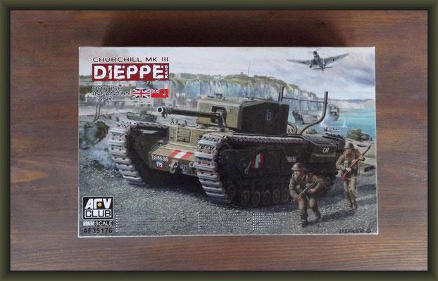 AFV Club AF35176 British Infantry Tank Churchill Mk.III Dieppe Raid