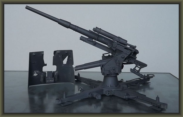 88mm Flak 37 ; Diorama 1:35 ; 2. Stage