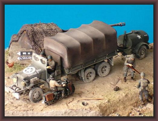 """U.S. Cargo Truck 6x6 """"Jimmy"""", Italy 1944"""