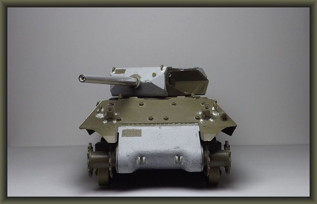 M-10 TD ; Diorama 1:35 ; Stage 1