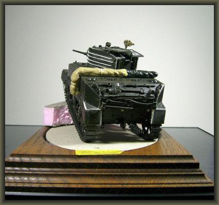 M5A1 Stuart ; Diorama 1/35 ; 1. Stage
