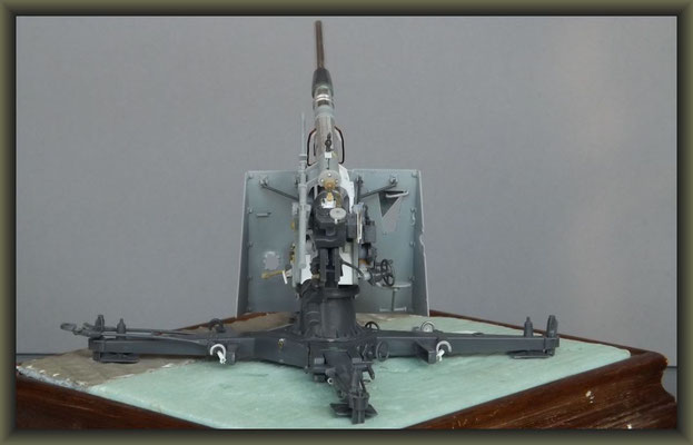 88mm Flak 37 ; Diorama 1:35 ; 1. Stage