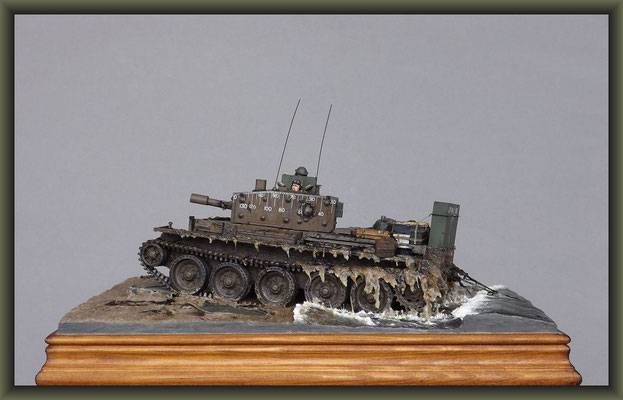 All That Glitters, Centaur C.S.Mk.IV, Diorama 1:35, Completion