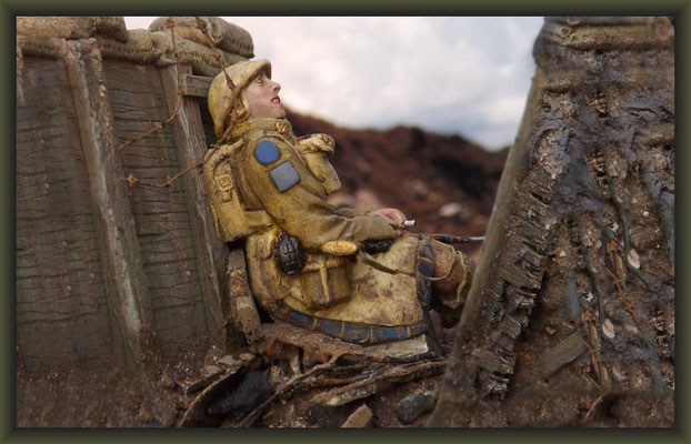 Secret Garden, WWI Vignette 54mm, Completion