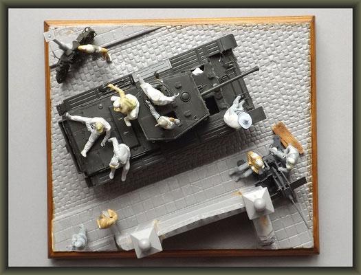 Cromwell Mk.IV ; Diorama 1:35 ; 2. Stage