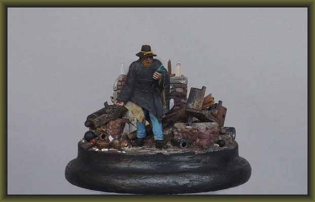 Loose Cannons, ACW. 54mm Figure Conversion, Vignette Completion