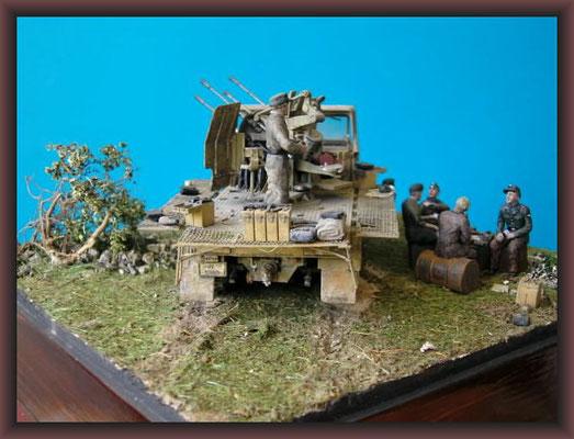 Sd.Kfz 7/1 20mm FLAK