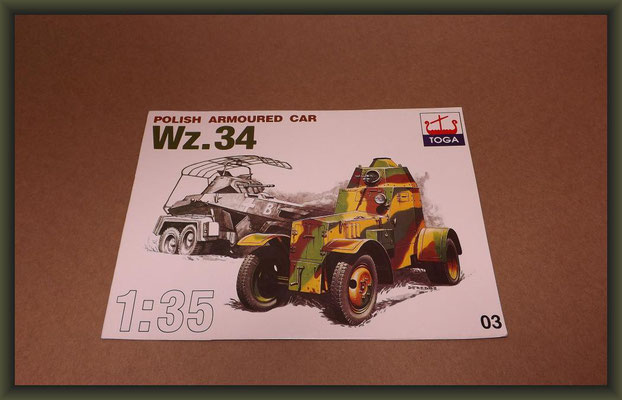 Toga 03 Polish Armoured Car WZ.34