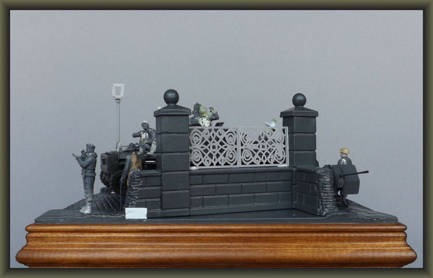 Cromwell Mk.IV ; Diorama 1:35 ; 3. Stage