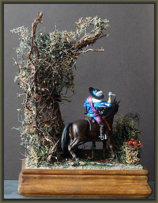 'The Wooden Horse' ; 54mm Airfix Figure Conversion ; Completion