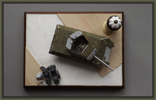 M-10 TD ; Diorama 1:35 ; Stage 2