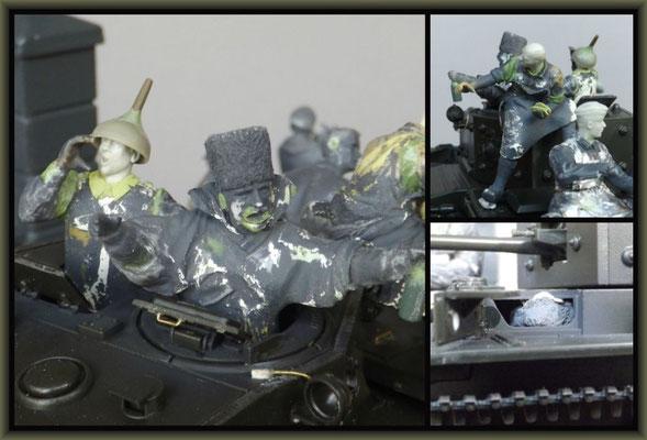 Cromwell Mk.IV ; Diorama 1:35 ; 3. Stage