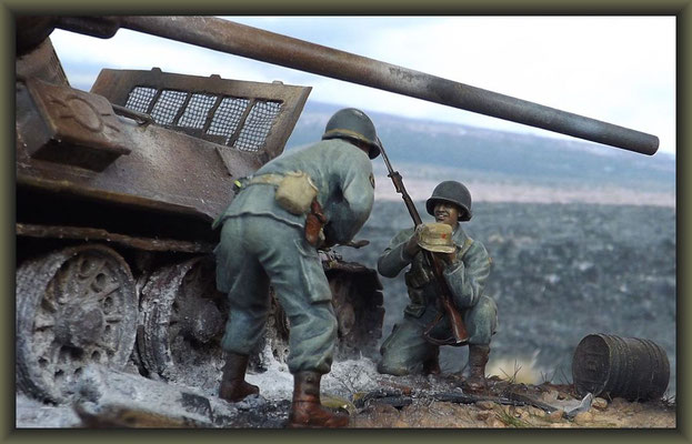'The Caviar Can' ; T-34/85 Composite ; Diorama 1/35 ; Completion